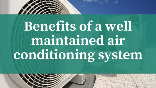 well maintained air conditioning system
