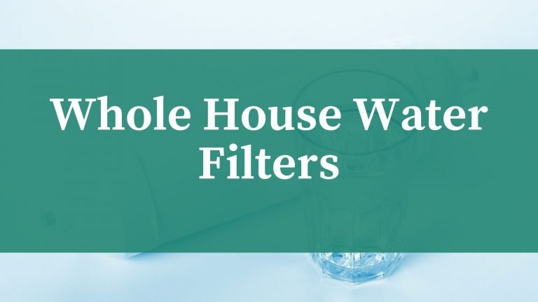 whole house water filter
