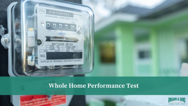 Whole Home Performance Test